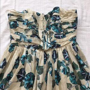 Brand New Strapless Alberta Ferretti dress